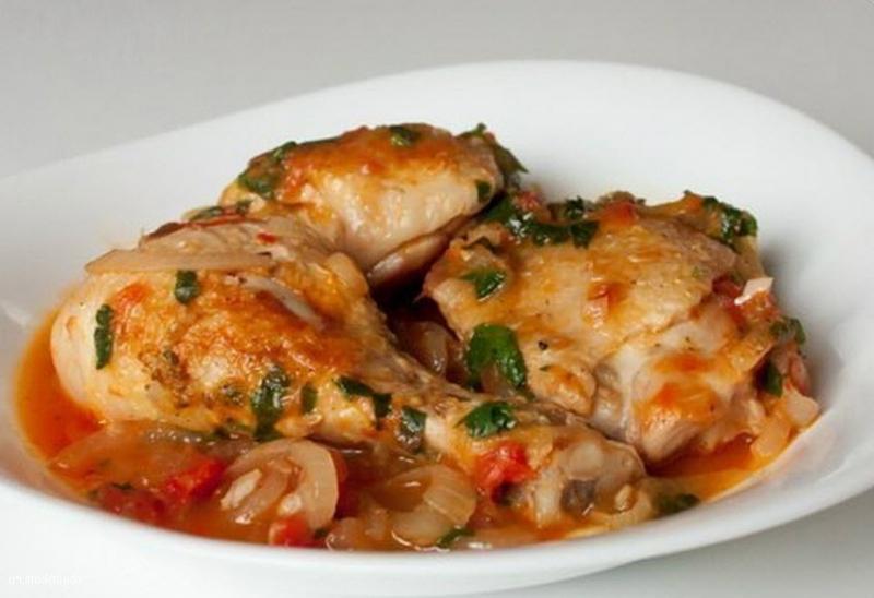 Рецепты чахохбили из курицы с фото в мультиварке